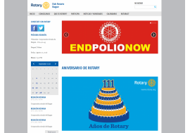 Colombian Rotaryclub launches website